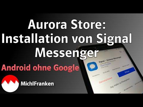 Signal Messenger Registrierung