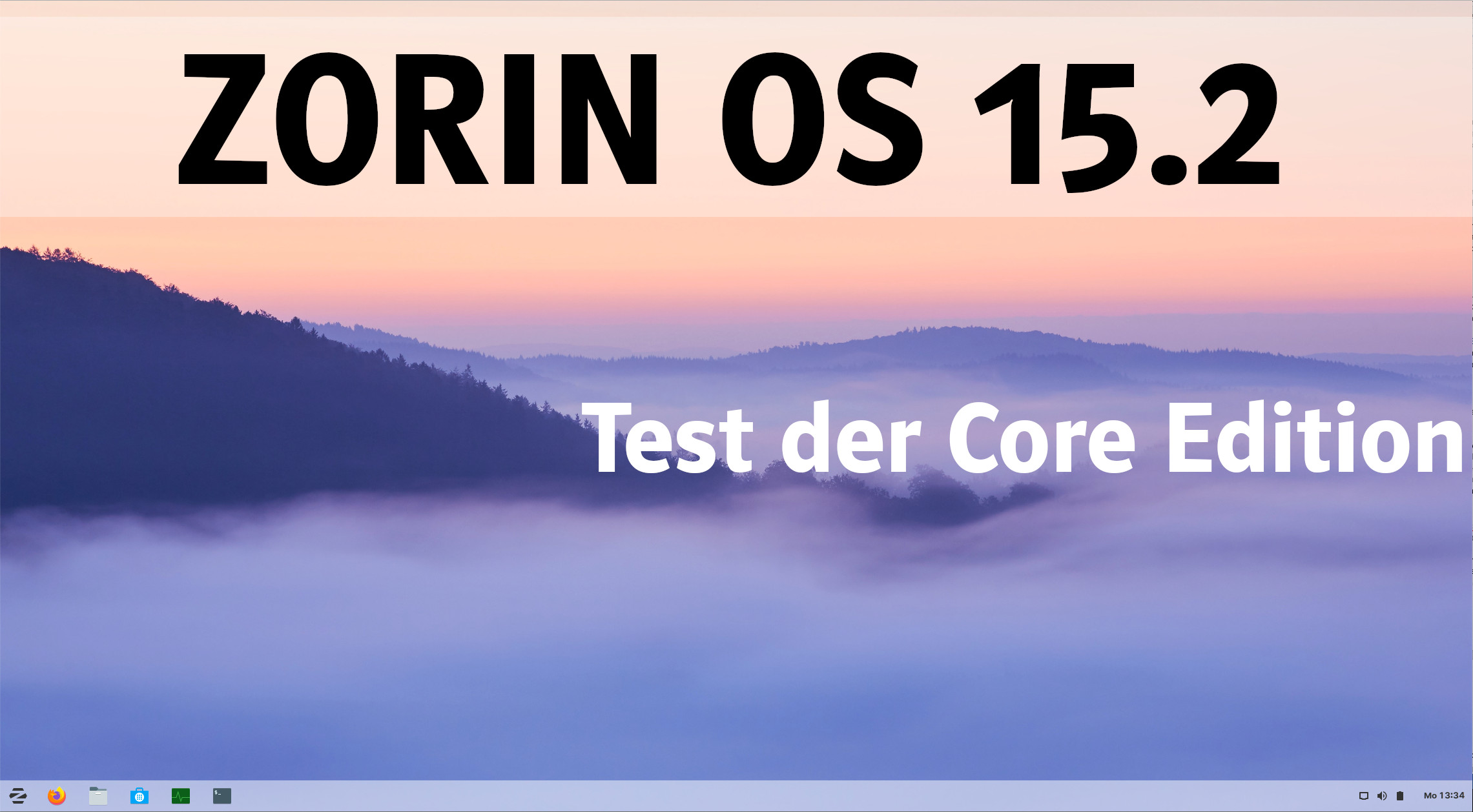 Zorin OS 15.2
