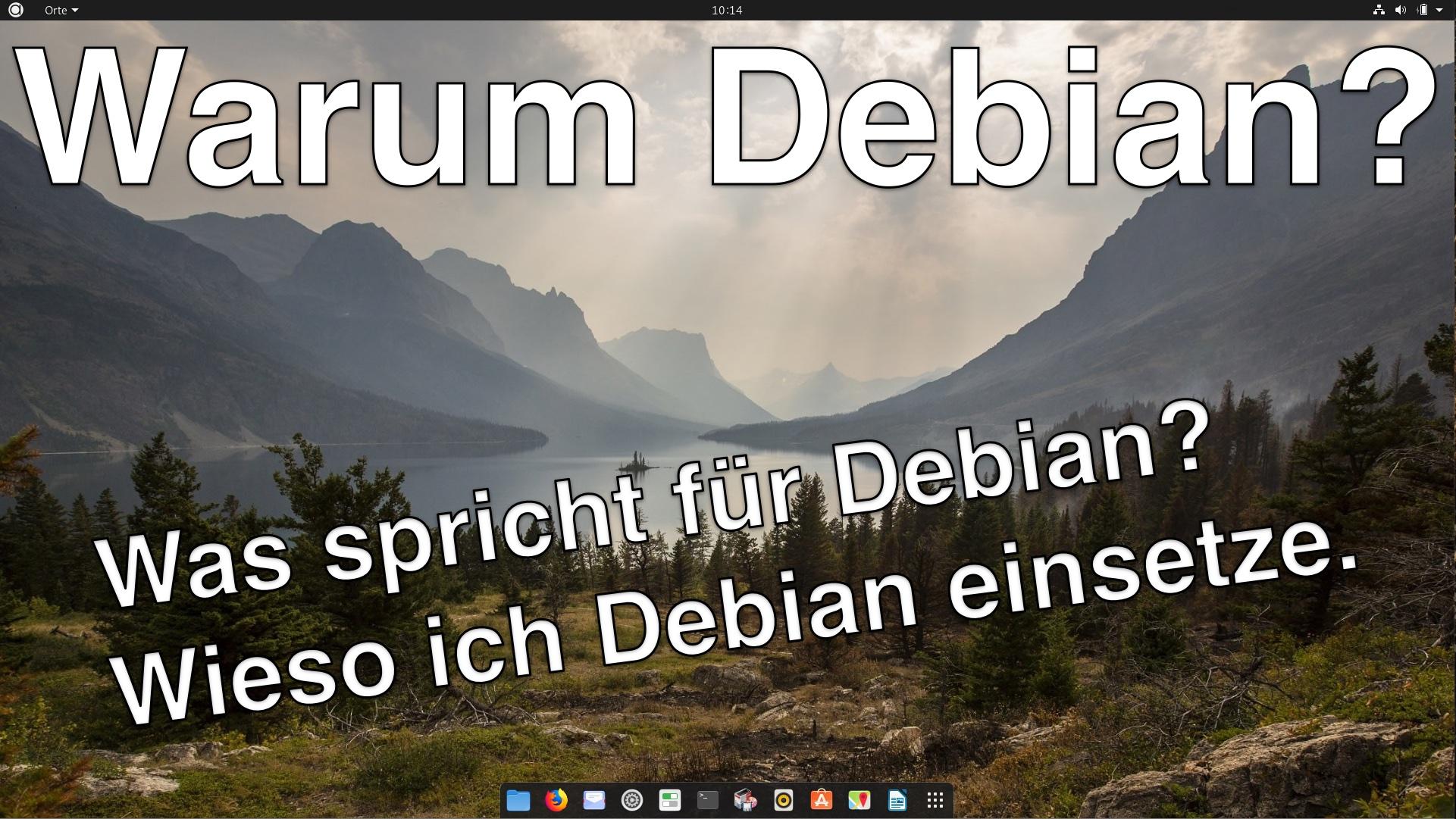 Warum Debian